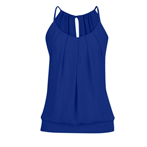 KIMODO T Shirt Bluse Tank Top Damen Camisole Sommer Lose Weste Schwarz Blau Rosa Große Größe Mode 2019 (T-shirts Für Frauen, Abercrombie)