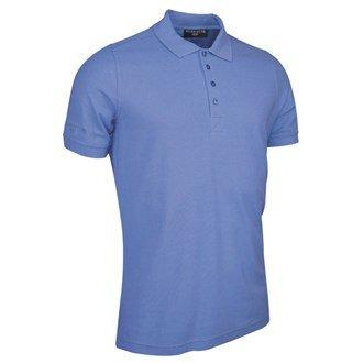 Glenmuir Herren gm027/fsh211Polo Shirt blau