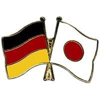 Japan Flaggenfritze/® Freundschaftspin Deutschland