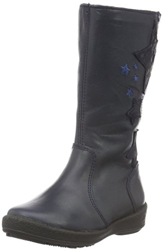 Garvalin161800B-FB - Stivali e stivoletti alti imbottiti caldi Bambina , Blu (Blu (marino)), 25 EU