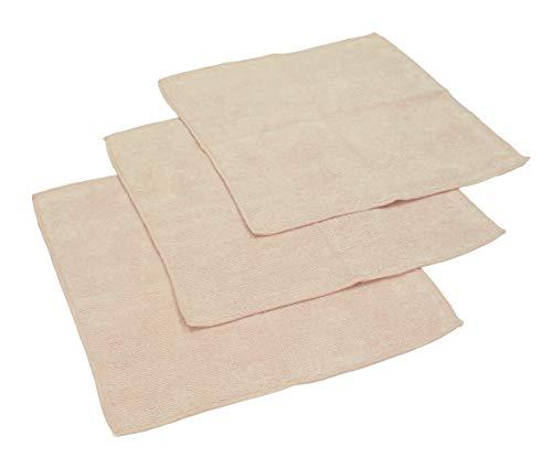 Betz Microfaser Reinigungstücher beige 30 x 30 cm (3er-Pack)