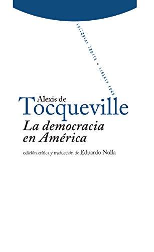 La democracia en América (Libertad d e los antiguos-Libertad de los modernos)