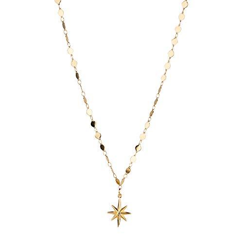 PURELEI Damen Halskette Gold Anhänger Geschenk für Frauen Freundin Schmuck (40 cm Länge) Langes Weltkugel Herz Kette Choker Modeschmuck Set Geburtstagsgeschenk Freundin Mutter