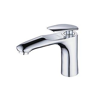 Mono – Grifo monomando para lavabo en baño, latón macizo, cromo pulido, Beelee BL6770