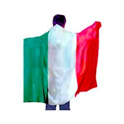 Unbekannt Italien Italia Flaggenumhang Fußball Fasching Squadra Italia