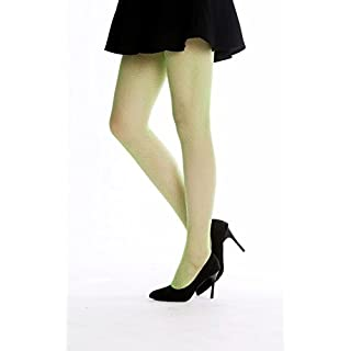 DRESS ME UP W-020B-green Netz-Strumpfhose Pantyhose Damenkostüm Party Karneval Halloween Grün Elfe S/M