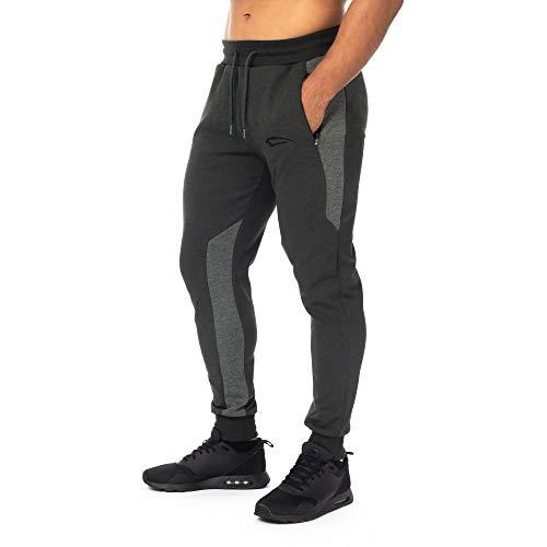 SMILODOX Herren Jogginghose Herren 'Instinct'| Trainingshose für Sport Gym Training | Sporthose - Jogger Pants - Sweatpants Hosen - Freizeithose Lang, Größe:M, Farbe:Olive