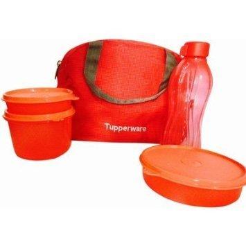 Tupperware tupsling plástico SLING-A-BLING almuerzo Set con bolsa de funda,...