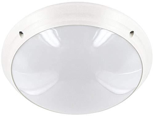 Saunaleuchte E27 IP65 230V - Wandleuchte Deckenleuchte rund weiß