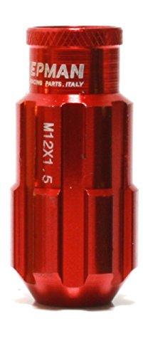 Preisvergleich Produktbild Racing Lug Nuts Satz aus Aluminium Radmuttern in 6 Farben DUB (Rot)