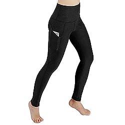 Felicove Damen Sport Leggings, Yoga Leggings Sportswear Style Hose Sommer Stretch Leggings Frühling Leggings Fitness Sport Gym Jogginghose Yoga Pants Leggings Mit Tasche