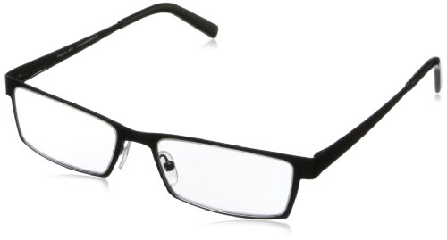 Peepers I Spy Rectangular Reading Glasses,Black,+2