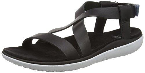 Teva Terra-Float Livia Lux W's Damen Sport- & Outdoor Sandalen, Schwarz (black 513), EU 40
