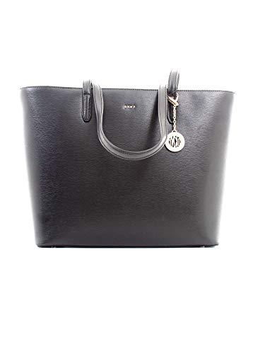 DKNY Logo Damen Handtasche Schwarz