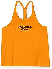 NAME IT Nkfhonna Tank Top Camiseta sin Mangas para Niñas
