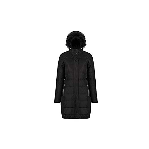 31WCyNYzaWL. SS500  - Regatta Women's Fermina Ii Quilted Water Repellent Insulated Hooded Jacket
