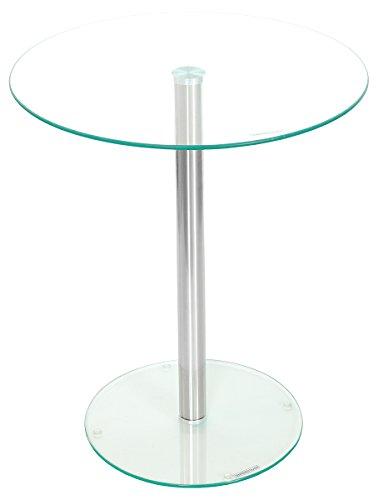 Febland podio mesa, cristal, Plata