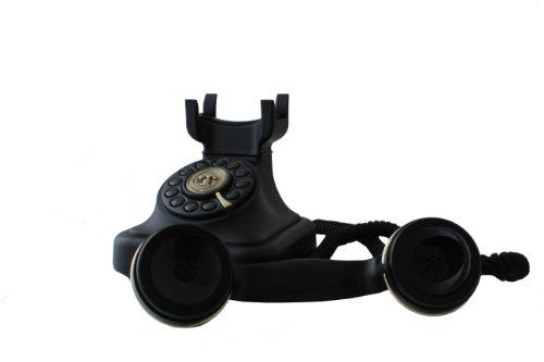 Swissvoice Vintage 20 - Schnurgebundenes Analog-Telefon im stilvollen Retro-Design mit vergoldeten Details - 5