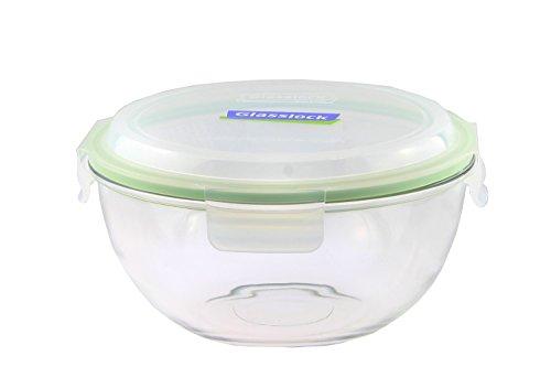 Glasslock (MBCB-200, 2L) Frischhaltedose aus Glas - Salatschüssel Typ (2L)