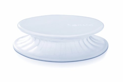 Lékué - Tapa extensible, 15 cm, color blanco