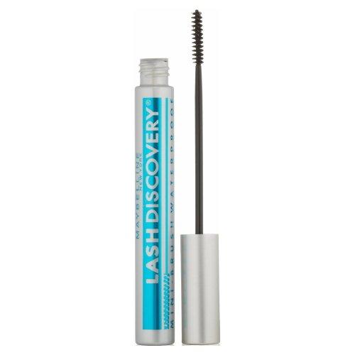 (6 Pack) MAYBELLINE Lash Discovery Mini-Brush Waterproof Mascara - Very Black