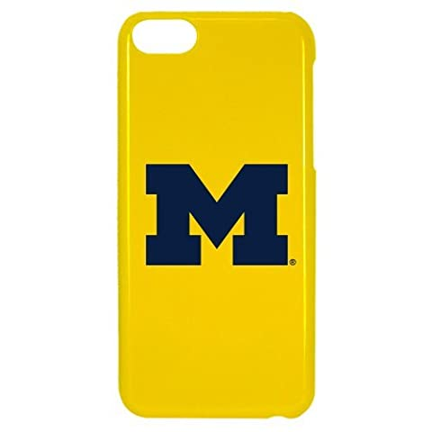 NCAA Michigan Wolverines Case for iPhone 5C, One Size, Yellow by Guard Dog