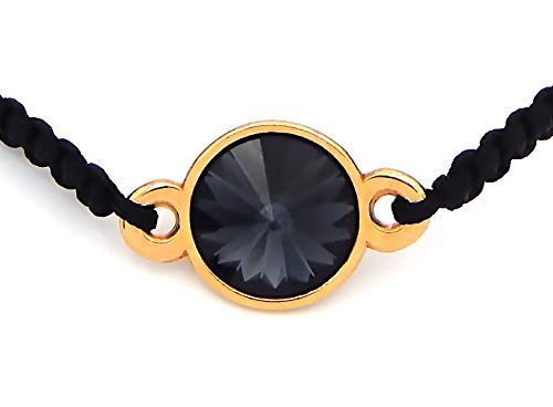 22671165447c ... Imagen de pulsera para mujer con cristales swarovski chaton
