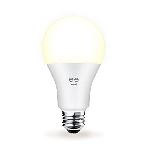 geeni Lux Drop BR30 Smart Wi-Fi LED de intensidad regulable bombilla de  color blanco (se puede afinar, 65 W Equivalente, no requiere Hub, funciona  con