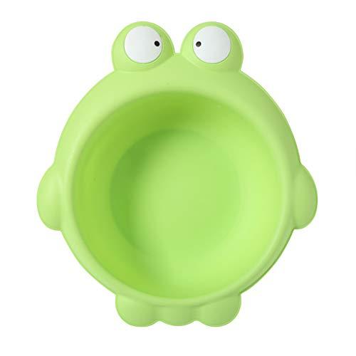 Homyl Baby Waschschale, Waschschüssel, Waschwanne, Seifenablage - Frosch grün