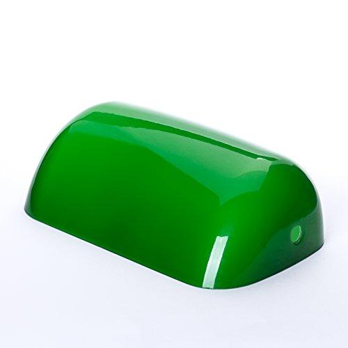 Repuesto Cristal Verde Banker Bankers Lamp