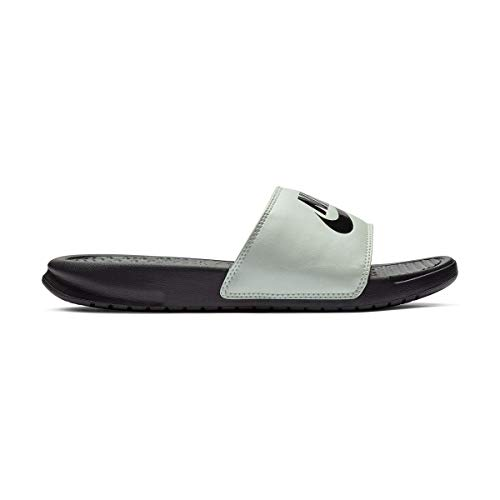 lowest price b9005 ab925 Nike WMNS Benassi JDI, Chaussures de Plage   Piscine Femme, Multicolore  (Spruce Black