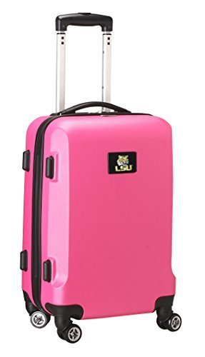 ncaa-lsu-tigers-hardcase-domestic-fahrerhandschuhfach-spinner-pink-20-inch-by-tankrucksack-denco-lug