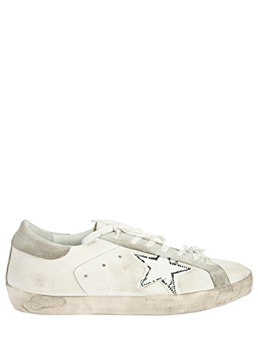 Sneaker Golden Goose Superstar Ripped Off White Bianco