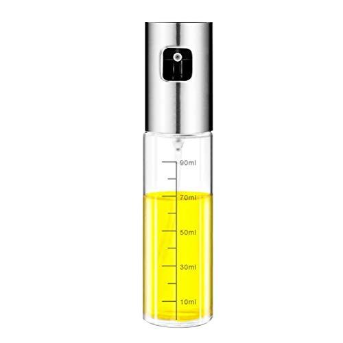 Fyeep Olivenöl Sprayer Ölspender Flasche 90ml, Premium Glasöl Essig Sojasauce Spender Pumpsprayer für BBQ, Grillen, Küche, Kochen, Salat, Brotbacken, Braten