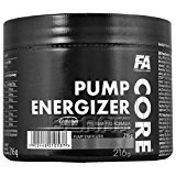 FA Nutrition Core Pump Energizer Pre Workout 216g 45 Servings (Fruit Punch)