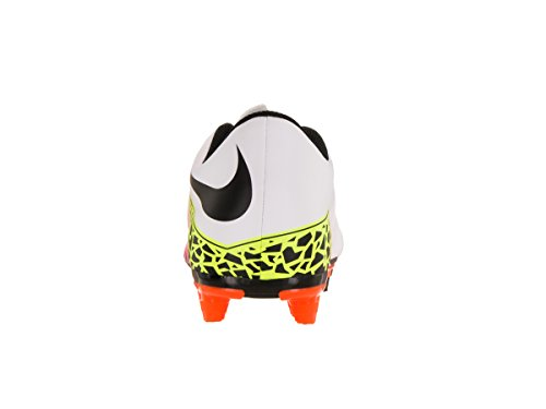 Nike Herren Hypervenom Phade II FG Fußballschuhe, UK Blanco (Blanco (White/Black-Total Orange-Volt))