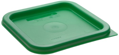 CAMBRO SFC2camsquares Kelly Grün Polyethylen Deckel für 2Qt und 4qt Lebensmittel Container Camsquare Container