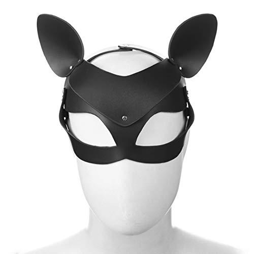 HONGSHENG Erwachsene Spielzeug Diamant Catwoman Maske Maske Augenmaske -