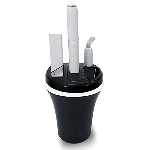 Aegilmc Caricabatteria da Auto per IQOS Multi 3.0, Caricatore Posacenere per PC Caricabatterie E Accessori per Sigarette con Cavo di Ricarica USB