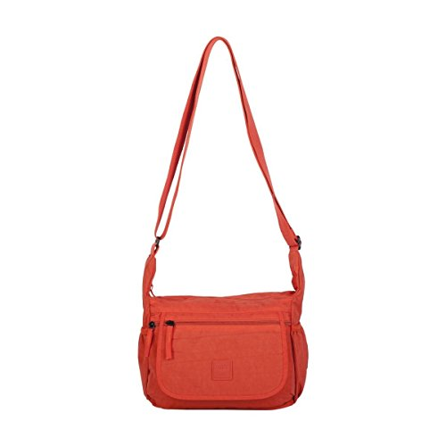 ARTSAC - 50020 Shoulder Bag, Borsa a spalla Donna Arancione (5022 Orange)