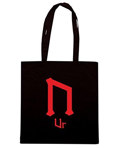 T-Shirtshock - Borsa Shopping T0300 Ur religioni celtic Nero