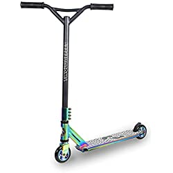 Trottinette freestyle Street Pro, rotation à 360°, Homme, Model - Logo (Neochrome)