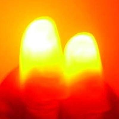 JER Trick 2 Piezas de Magia Ligeros Dedos para Arriba Que Destella Dedos Pulgar Consejos de Magic Fingers Truco Que aparecen Luz de JER