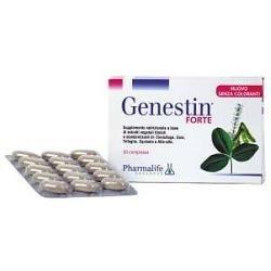 Integratore Alimentare Per I Disturbi Legati Alla Menopausa Genestin Forte 30 Compresse