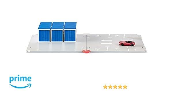 NUOVO Siku Sieper Gmbh Garage E Parcheggio Con Auto