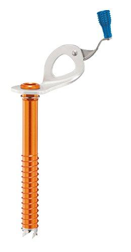 Petzl Unisex– Erwachsene Laser Speed Light Eisschraube mit integrierter Kugel 17cm, Mehrfarbig