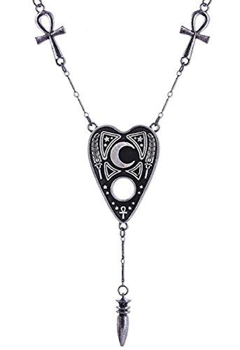 Preisvergleich Produktbild Dark Dreams Restyle Gothic Wicca Pagan Amulett Ouija Planchette Pendel Ankh Halskette Kette