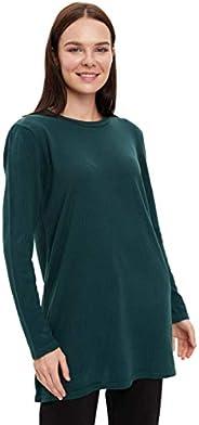 DeFacto Triko Tunik Sweatshirt Kadın