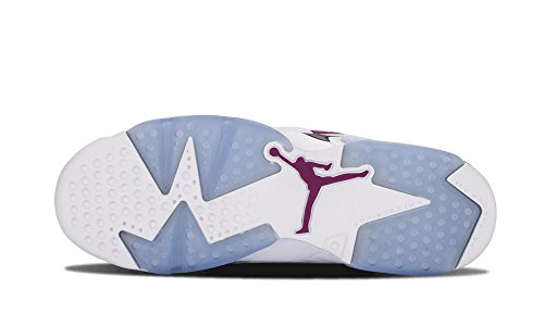 Nike Air Jordan 6 Retro Gg, Scarpe da Corsa Bambina, Blu White/Grape