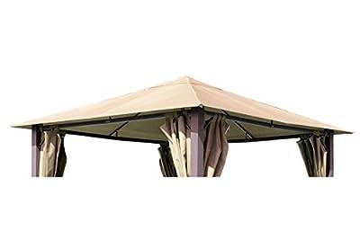 Ersatzdach für Pavillons Paris Farbe: Sand von Grasekamp auf Gartenmöbel von Du und Dein Garten